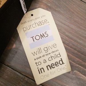 Toms Shoes - New women's Toms